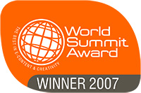 World Summit Award 2007 seal
