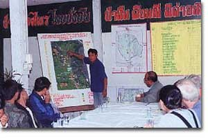 Planning a community-fire management strategy at watershed level by the use of a relief model.